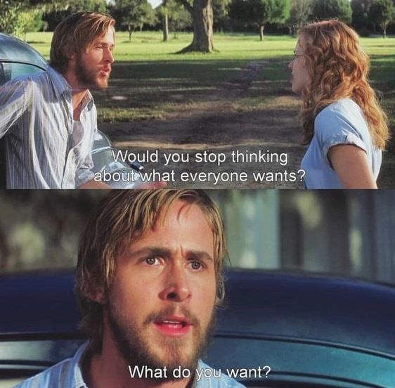 noah and allie what do you want