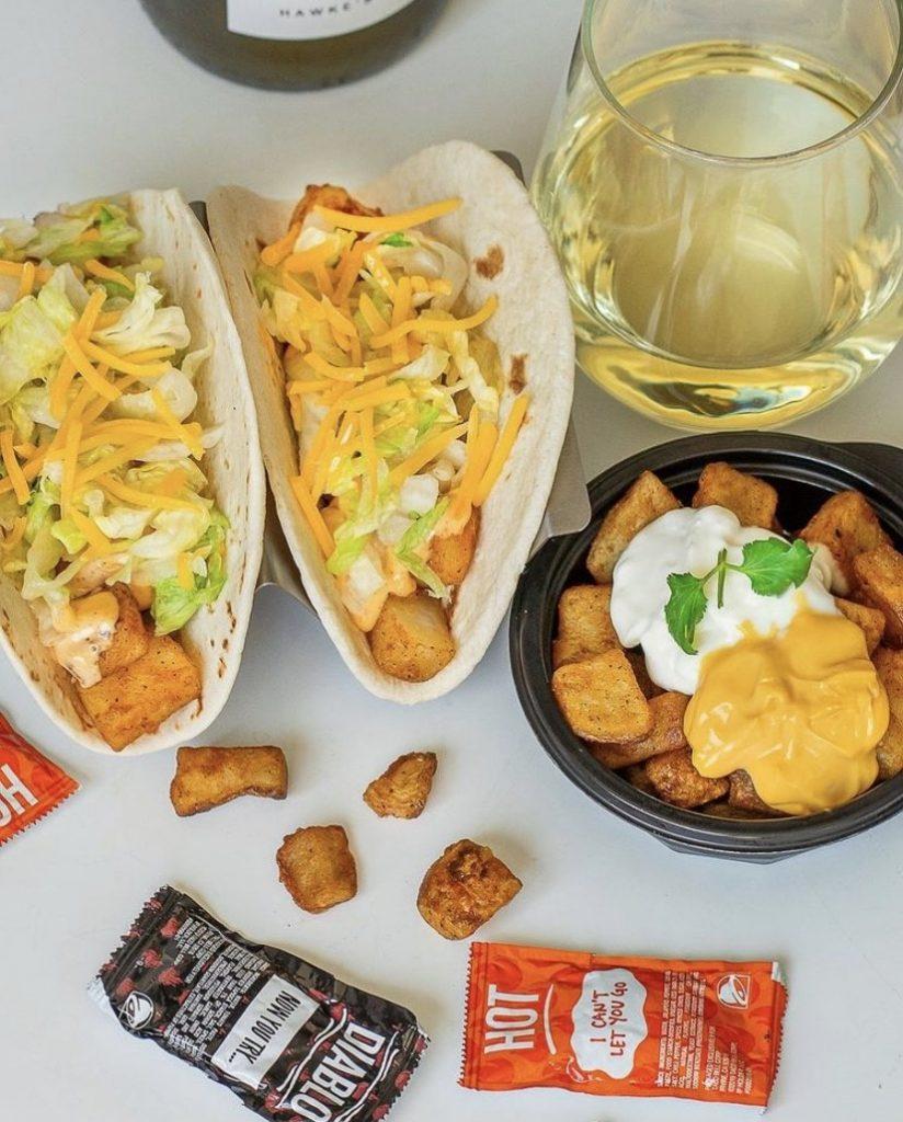 taco bell potato tacos