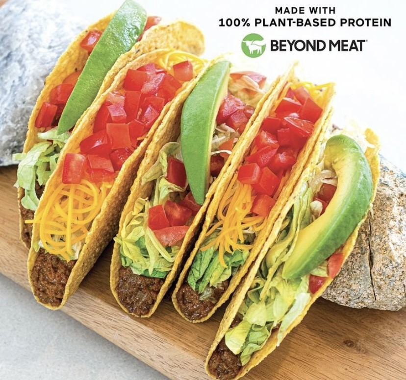 del taco beyond meat taco